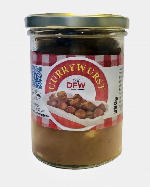 Currywurst mit Soße